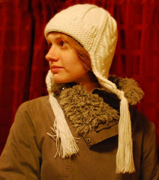 мужские шапки с помпоном и длинными ушами - Выкройки одежды для детей и...